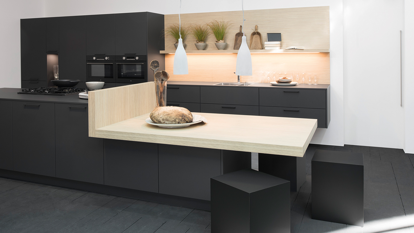 Dunkle Küche Küchenstudio Benzinger Friolzheim