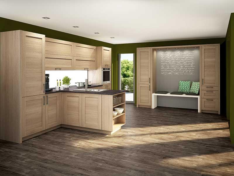 Holzküche Küchenstudio Benzinger Friolzheim