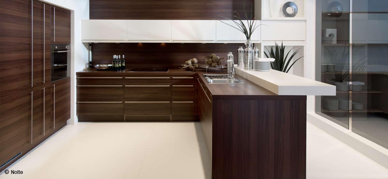 Moderne Nolte Küche Küchenstudio Benzinger Friolzheim