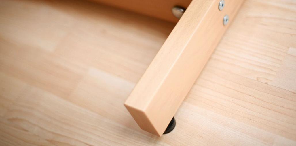 Holzhebehilfe Gummifüße