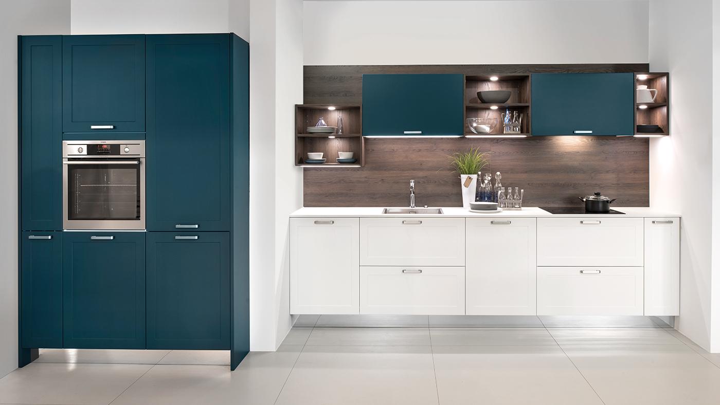 Weiße Küche Küchenstudio Benzinger Friolzheim