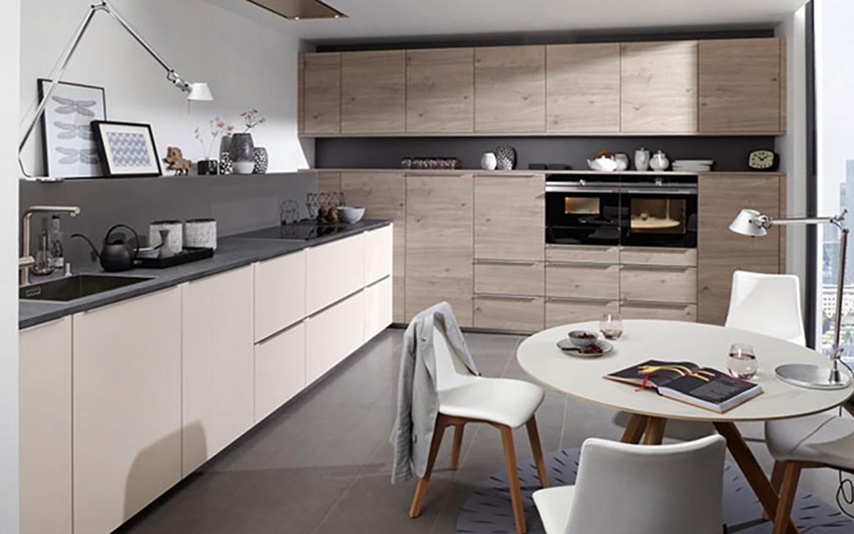 Holz-Einbauküche Küchenstudio Benzinger Friolzheim