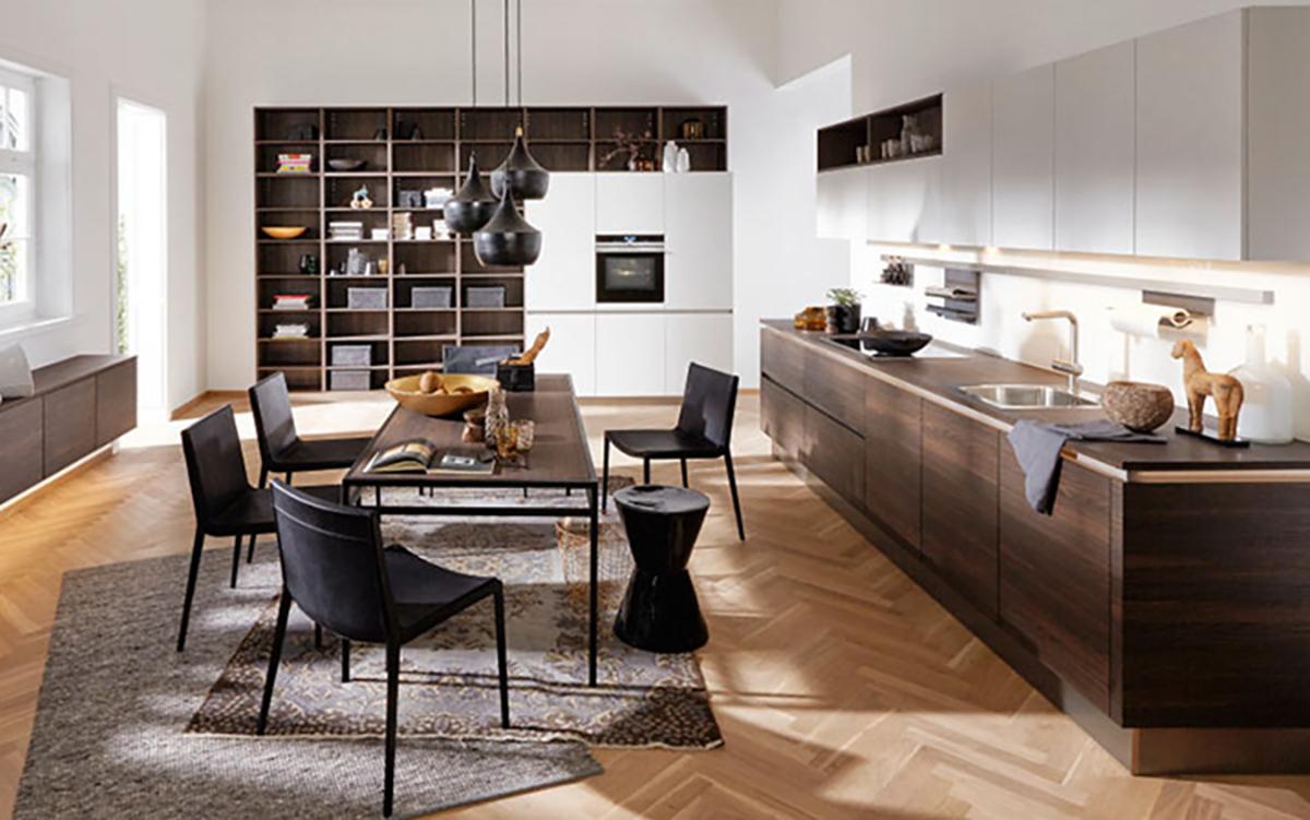 Moderne Wohnküche Küchenstudio Benzinger Friolzheim